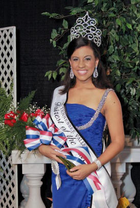 Tessa Jones of Loudon was crowned the Fairest of the Fair at the 2010 Tennessee Valley Fair