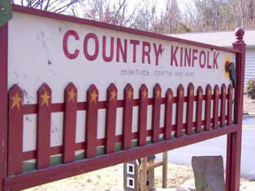 The Country Kinfolk store is tucked away along Highway 11 just outside of Lenoir City